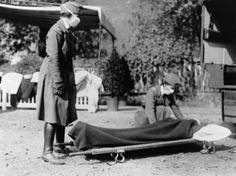 Chiropractic Care During 1918 Influenza Epidemic Reveals Startling Statistics  Pandemic Preparedness from Chiropractic Records of 1918 Influenza Epidemic Old Pictures, Old Photos, Island Hospital, Flu Epidemic, Flu Outbreak, Emergency Ambulance, Vintage Nurse, Influenza, Medical History