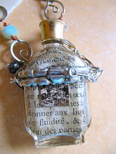 Sally Jean Alexander | ... Sally Jean Alexander , and unlike me, Tiffany has really mastered Grandmother Jewelry, Soldered Pendants, Bottle Jewelry, Found Object Jewelry, Petites Choses, Punk Jewelry, Diy Bottle, Soldering Jewelry, Antique Perfume Bottles