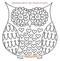 How to Draw an Owl: Learn to Draw a Cute Colorful Owl in this Easy Step-by-Step Drawing Lesson