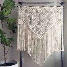 Macrame Patterns/Macrame Pattern/Large Macrame Wall Hanging