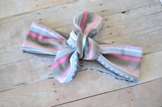 Knot Headband Baby Turban Fabric Headband  by DimpledCutieCreation