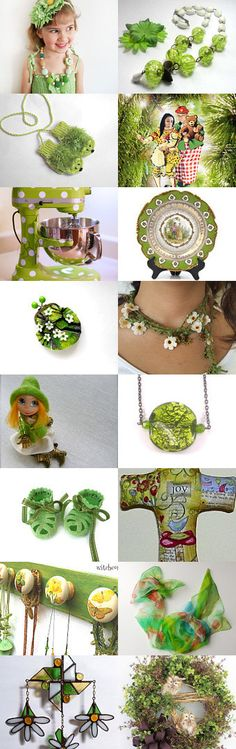 LIGHT GREEN WHIMSY by Vickie Wade on Etsy, www.PeriodElegance.etsy.com #etsygifts