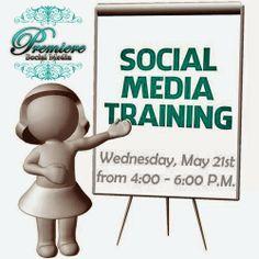 Social Media Workshop with Premiere Social Media! May 21, 2014, 4-6 PM #Scottsdale