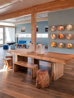 Http://www.mochilerostv.com //// Hostel Stayokay Egmond #Netherlands #stylish  warn wood