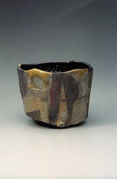 Raku Kichizaemon 15th generation 茶碗「林巒夕麗」楽 吉左衛門