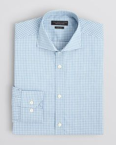 The Men's Store at Bloomingdale's Gingham Check Dress Shirt - Slim Fit - Bloomingdale's Exclusive