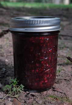 Basil Blackberry Jam