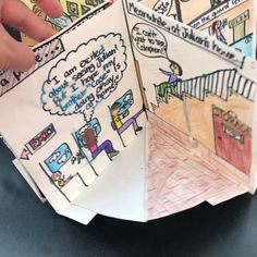 Literature project - Book Report Foldable Project PopUp Picture Book with Editable Rubrics – Literature project Book Report Projects, Book Projects, Projects For Kids, School Projects, Crafts For Kids, Art Books For Kids, Art For Kids, English Projects, Writing Pictures