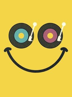 Because playing vinyl makes us happy!