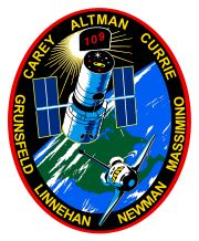 STS-109 Columbia March 1, 2002 - March 12, 2002