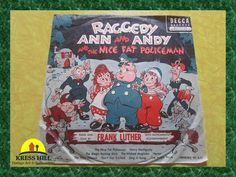 1952 Raggedy Ann and Andy and the Nice Fat by KressHillVintage, $23.00