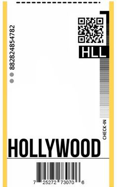 Fly Ticket Phone Case DIY - Template Hollywood - Created a Template to recreate the iconic fly ticket phone case in seconds! just print the diy flig - Iphone Wallpaper Vsco, Iphone Background Wallpaper, Aesthetic Iphone Wallpaper, Diy Phone Case, Cellphone Case, Diy Case, Mobile Phone Cases, Ticket Design, Aesthetic Phone Case