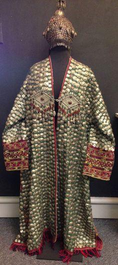 Afghanistan Wedding Coat and Hat Afghanistan Tribal Kuchi Wedding Coat and Hat
