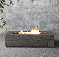 Day 8/$8,000 Fire Table from Restoration Hardware. Comes in wood trim to match furniture but that picture was unavailable $2970  $3,805-$2970=$835 left