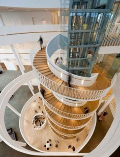 Spiral Staircase Saxo Bank