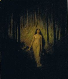 Ozias Leduc - Erato (Muse in the Forest)
