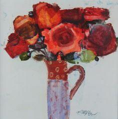 Scottish Artist Mhairi McGREGOR-Red Roses
