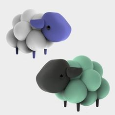 Nextbit Sheep Vinyl Toy! Even cuter than the Robin smartphone... you can get one of their vinyl sheep mascots designed by Andrew Bell of Dead Zebra.