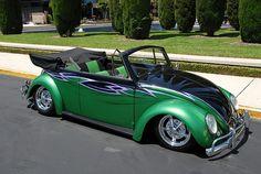 VW Beetle...slug bug...love seeing these on the road..