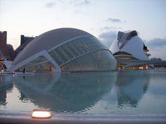 Ciudad de las Artes y las Ciencias (Arch. Santiago Calatrava) - Valencia