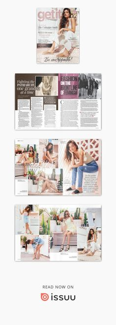 Get it Magazine March 2019 Business Women, Feminism, March, How To Get, The Incredibles, Magazine, Beauty, Magazines, Beauty Illustration