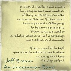 An excerpt from my new book- An Uncommon Bond. Love-ship or Relationship- take your pick...