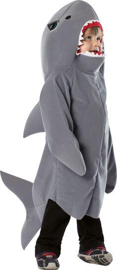 Disfraz de tiburón para niño. Disponible en www.vegaoo.es