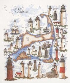 The #Lighthouses of Cape Cod http://dennisharper.lnf.com/