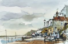 Simplifying Line Wash and Watercolour with John Hoar