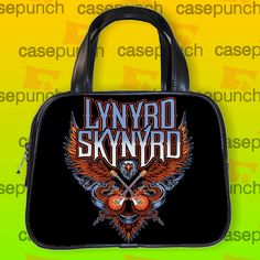 An7-lynyrd Skynyrd God And Guns Rock Handbag Purse Woman Bag Classic