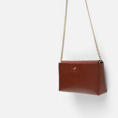 Image 3 of MESSENGER BAG WITH CHAIN from Zara