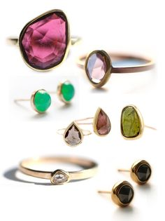 Jewels (These are all super classy. I love the rings!)