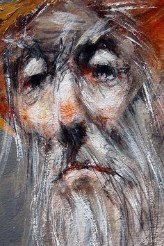 Marcel Nino Pajot - Don Quichotte (détail)