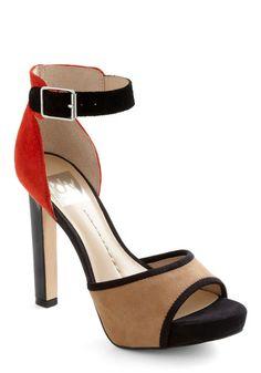 Just the Way I Glam Heel, #ModCloth