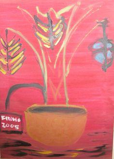 O Vaso 1 - Ano 2005 (70x50 tela)