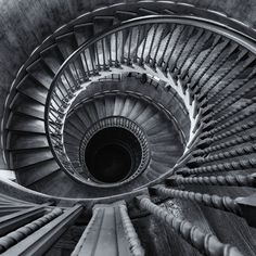 Staircase. Descent by Mike Barber on 500 px