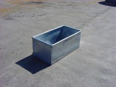 Stealing this one from Renae! Cattle feeding trough as a planter. Galvanised so will stay strong... 8ft x 2 for front?