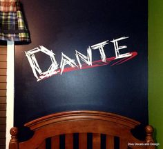 Have Your WWE Wrestling Fans Name Across Their Bedroom Wall Or Perfect For  Any Man Cave. Written In Authentic WWE Font Style.