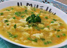 Rychlá halušková polévka recept - TopRecepty.cz