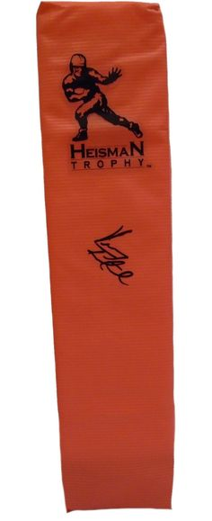 eed7ba9a482 Vinny Testaverde Autographed Heisman Full Size Football End Zone Touchdown  Pylon, Proof. This is
