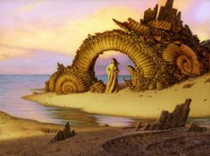 retro spection - Paintings by Michael Whelan  <3 <3