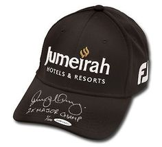 "Rory McIlroy Autographed Jumeirah Titleist Black Hat ""2 X Major Champ"" /100 UDA"
