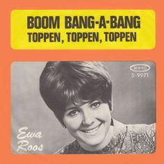 """""""Boom Bang-A-Bang"""". Ewa Roos har et forelsket hjertet. Det fortæller hun om i denne svenske version af den brittiske Eurovisionsvinder fra 1969. #ESC1960 #UK"""