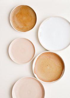 Nougat ceramic bowl - beautiful ceramic bowls in peach colors - . - Nougat ceramic bowl – beautiful ceramic bowls in peach colors – - Peach Color Palettes, Neutral Colour Palette, Peach Colors, Colours, Neutral Tones, Ceramic Plates, Ceramic Pottery, Ceramic Art, Glazed Ceramic