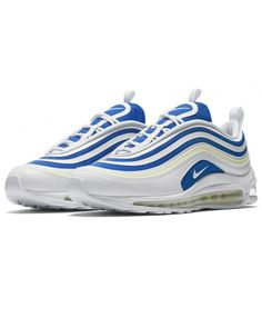 super popular 604d0 9912f Women's Nike Air Max 97 Ultra 17 SE White Blue Trainer,Fashion sneakers,  buy now Enjoy business discounts now!