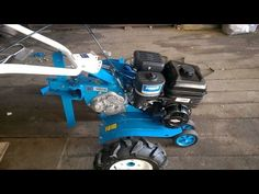 САМ сделал мотоблок. DIY two-wheel tractor with their own hands. - YouTube
