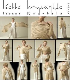 IOANNA KOURBELA – One of those multi wrap... things. I like!