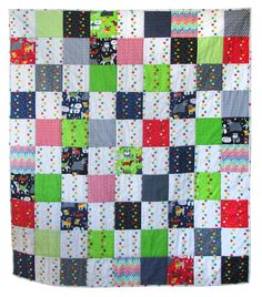 """Baby quilt-""""Here Boy"""" SOLD Sept. 2016"""