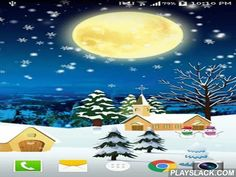 Christmas By Live Wallpaper Hd  Android App - playslack.com , Christmas by Live wallpaper hd - enjoy astonishing precipitation and Christmas! You can appoint day or dark-hour theme as well as set sound effects and many other things.