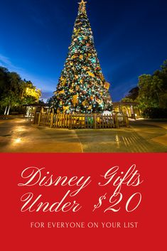 Fun Disney gifts for the Disney lovers on your list all for under $20 each! Disney Christmas Decorations, Disney World Christmas, Disney Christmas Shirts, Christmas Vacation, Disney Home, Disney Diy, Disney Crafts, Walt Disney, Disney Cruise